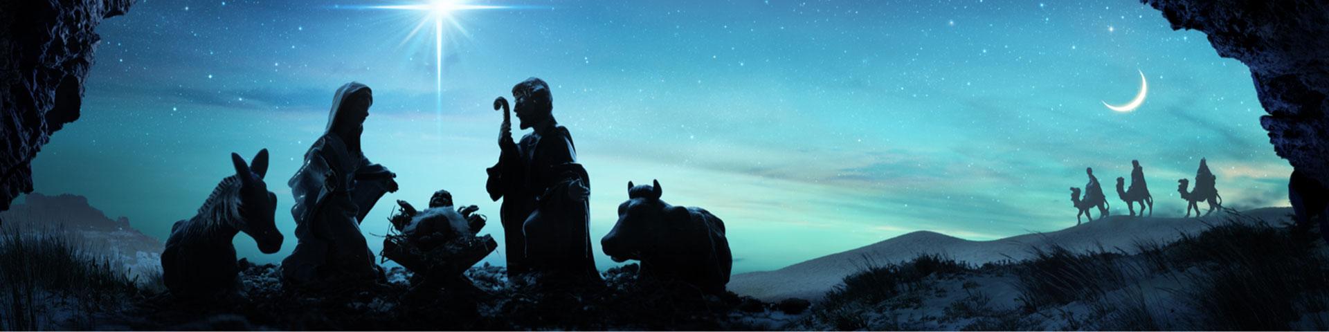 Szene Christi Geburt