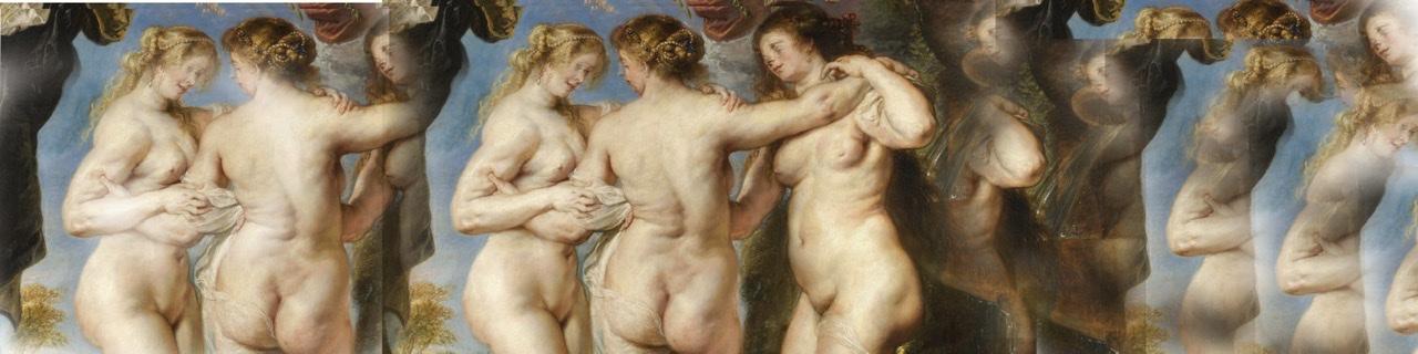 Cellulite war für die 3 Grazien von Rubens wohl kein Problem